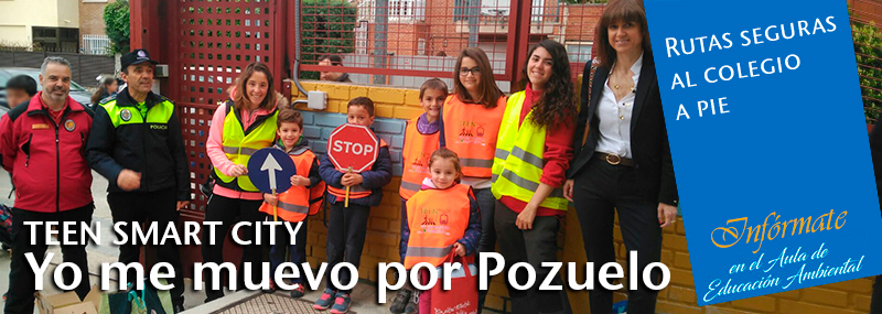 "Teen Smart City ""Yo me muevo por Pozuelo"""
